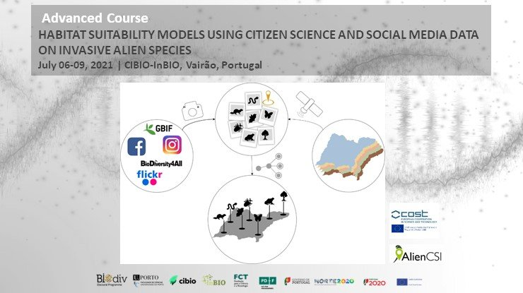 HABITAT SUITABILITY MODELS USING CITIZEN SCIENCE AND SOCIAL MEDIA DATA ON INVASIVE ALIEN SPECIES